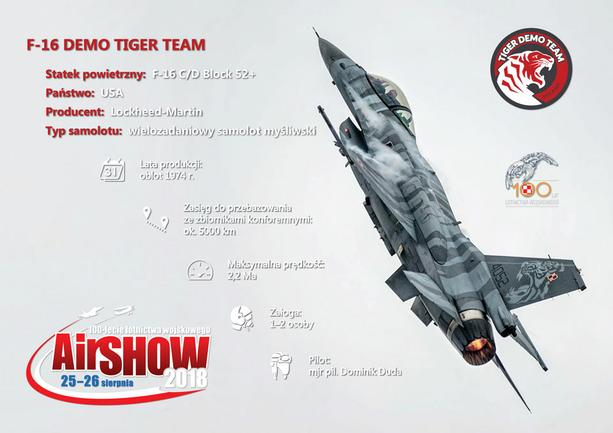 F-16 DEMO TIGER TEAM
